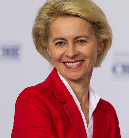 Ursula von der Leyen, CDU, Bundesministerin der Verteidigung